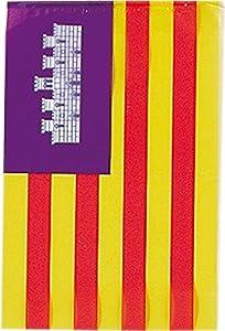 Verbetena - Bandera plástico Baleares 20x30 cm, bolsa 5x10 metros (011200080)