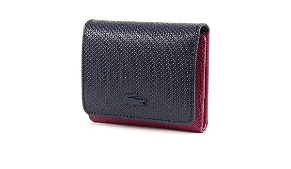 Lacoste Chantaco Medium Trifold Wallet Boysenberry zrP6NF4