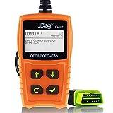 JD-101 OBD2 Code Scanner Automotor Fehlercodeleser Fahrzeug CAN EOBD OBDII