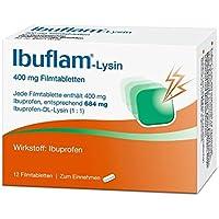 Preisvergleich für IBUFLAM-Lysin 400 mg Filmtabletten 12 St Filmtabletten