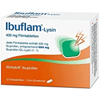 IBUFLAM-Lysin 400 mg Filmtabletten 12 St preisvergleich bei billige-tabletten.eu