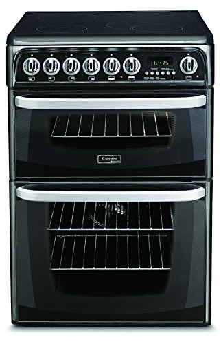Hotpoint CH60EKKS Black, 60cm Freestanding Electric Double Oven Cooker lowest price