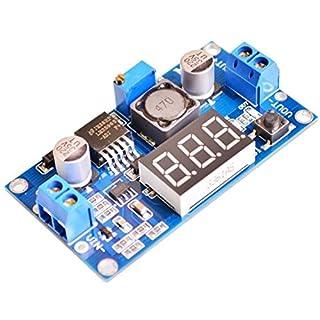 DaoRier LM2596 DC Step Down Konverter 36 V bis 24 V auf 12 V zu 5 V Variable Volt Stromversorgung 3 stelliger Anzeige Rot Voltmeter Display