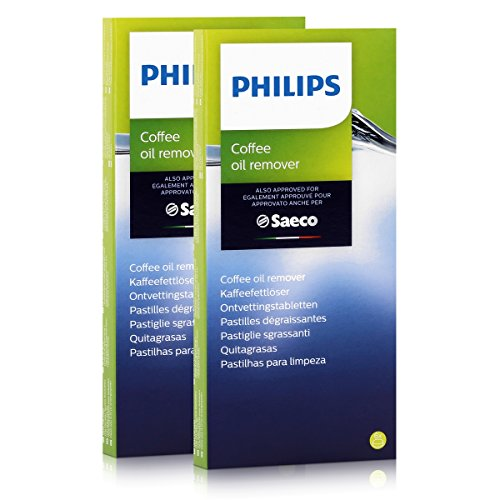 Philips Saeco CA6704/10 Kaffeefettlöser - 6 Tabletten á 1,6g (2er Pack)
