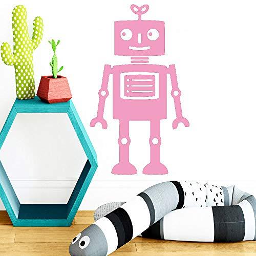 zqyjhkou DIY Roboter Vinyl wandaufkleber abnehmbare für kinderzimmer Dekoration wandmalereien Babys Room Decor tapete Aufkleber 3 x x x x x