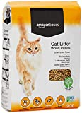 AmazonBasics Cat Litter Wood Pellets 30L