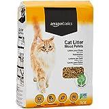 AmazonBasics - Arena para gatos de pellets de madera, 30 l
