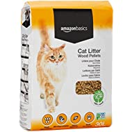 AmazonBasics Cat Litter Wood Pellets 30L