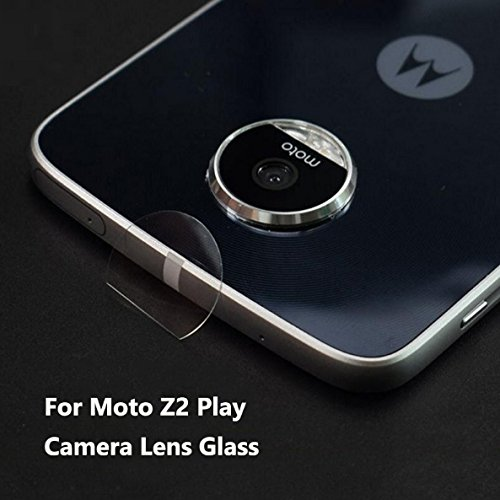 Shockware Camera Tempered Back/Rear Glass Lens Protector Soft Protective Film Compatible With Motorola Moto Z2 Play