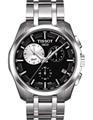 Tissot T0354391105100 - Reloj de caballero de cuarzo, correa de acero inoxidable color plata