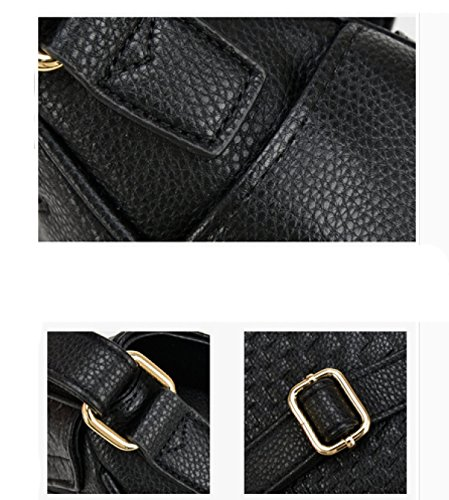 LAIDAYE Frau Messenger Tasche Handtasche Schultertasche 5