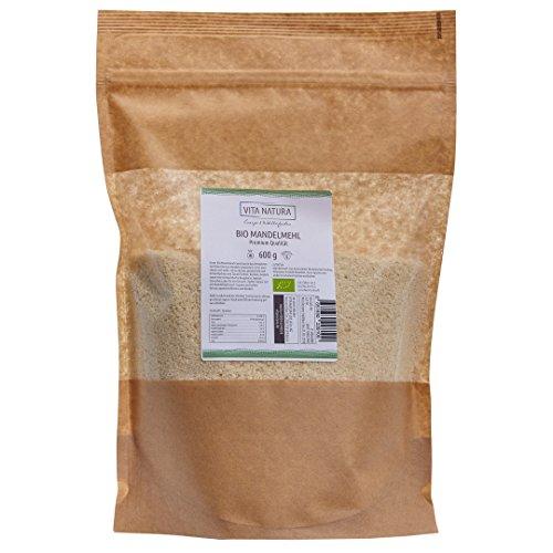 Bio Amande farine haute qualité pour 600g