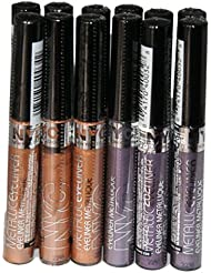 12 x NYC Metallic Eyeliner | 2 shades | Wholesale bulk buy