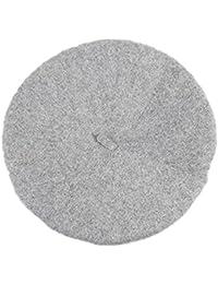 Wicemoon Casquillo de La Boina del Color Sólido para El Sombrero Caliente  del Invierno de La 50c9a1ac3d9