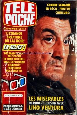 TELE POCHE [No 869] du 06/10/1982 - LES MISERABLES DEROBERT