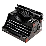 retrò decorazione d'epoca modello di macchina da scrivere in metallo letteratura e stile art Mestieri domestici