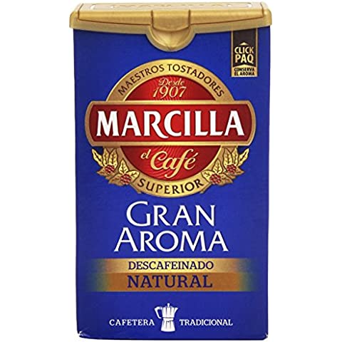 Marcilla - Decaffeinated Café Molido Natural - 200 g