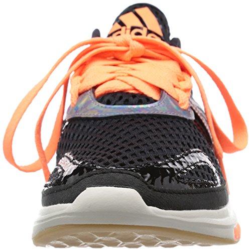 adidas Damen Yvori Gymnastikschuhe, Mehrfarbig Black/Orange