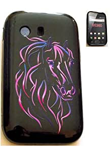 Housse gel Cheval pour Samsung S5360 Galaxy Y