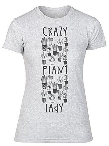 Crazy Plant Lady Lots Of Plant Pots Women's T-shirt de la femme Large