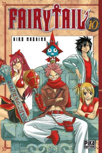 Fairy Tail T10 par Hiro Mashima