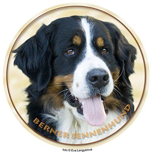 LUKKA Berner Sennenhund Aufkleber 15 cm -