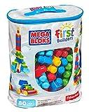 #4: Mega Bloks First Builders Big Building Bag 80-Piece Classic Building Set