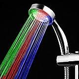 Soffione doccia a LED ad iniezione d'aria leggera per uso domestico @ XY0821B_Altro