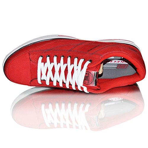 Skechers ArcadeChat Herren Sneakers Rot
