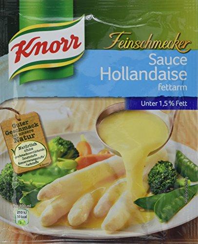 Knorr Feinschmecker Hollandaise fettarm Soße, 9er-Pack (9 x 250 ml)