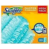 Swiffer Staubmagnet-Tücher, Mega Nachfüllpack, 1er Pack (1 x 20 Stück)