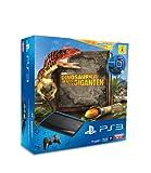 PlayStation 3 - Konsole Super Slim 12 GB (inkl. DualShock 3 Wireless Controller + Move Starter Pack + Wonderbook: Dinosaurier - Im Reich der Giganten