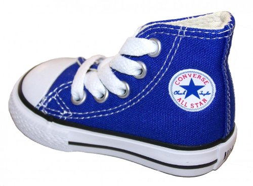 Converse - Chuck Taylor All Star Hi, Sneaker Unisex – Bambini, Rosso, 34