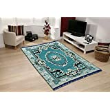 Designer Stylish Abstract Chenille Heavy Quality Carpet 7 Feet (Length) x 5 Feet(Width) for Home Decoration by The Decor Hub
