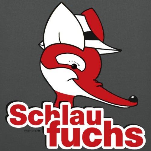 Spreadshirt Sandman Mister Fuchs Sonaglio Borsa Di Stoffa Grafite