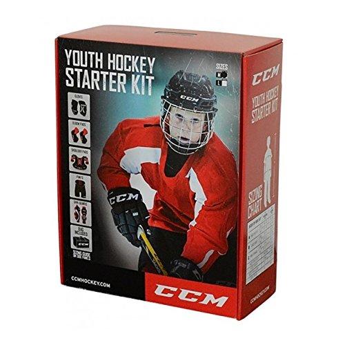 CCM Youth Hockey Starter Kit, Größe:XL