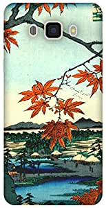 The Racoon Maple Trees at Mama hard plastic printed back Case for Samsung Galaxy J7 (2016)
