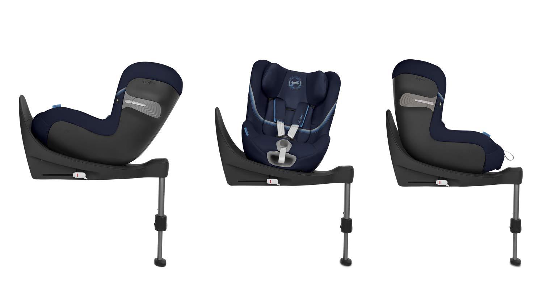 Cybex Sirona S i-Size Car Seat, Deep Black Cybex Cybex sirona s i-size car seat, deep black Item number: 520000513 Colour: deep black 3