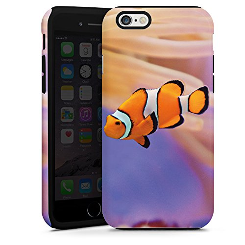 Apple iPhone 3Gs Housse étui coque protection Poisson anémone Poisson clown Poisson Némo Cas Tough terne