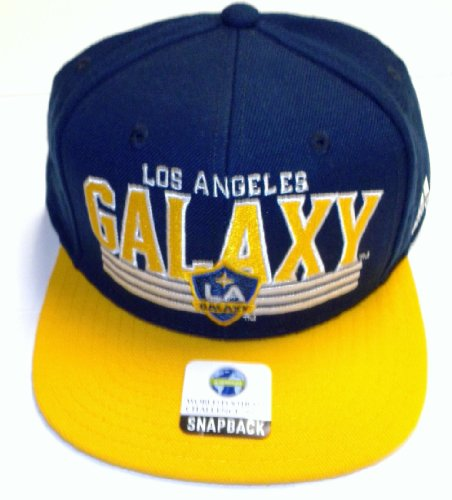 adidas MLS Los Angeles Galaxy Snapback Mütze-OSFA-np01z -