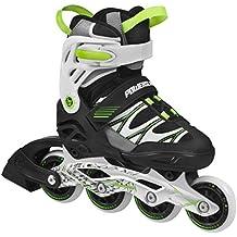 Powerslide Fitness Skates Phuzion Fun Boys - Patines en línea, color verde, talla 31-34