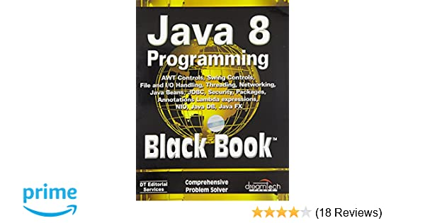 Buy Java 8 Programming Black Book Book Online at Low Prices in India