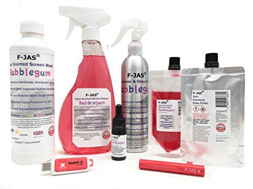 F-JAS Deluxe-Juego de accesorios para limpieza de coche