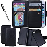 Urvoix For iPhone 5 5S SE, Wallet Leather Flip Card Holder