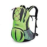 TXJ 22L Multifuncional al Aire Libre Mochilas para el Ciclismo, Trekking, Camping, Senderismo (Verde)
