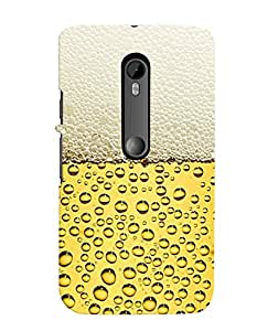 GoTrendy Back Cover for MOTO G3 + Free USB LED Lamp For Mobiles/Laptops/Mobile Adaptors