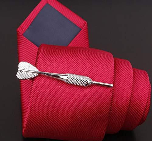 KinTTnyfgi Krawattenklammer in Dart-Form, für Hochzeiten, Herren