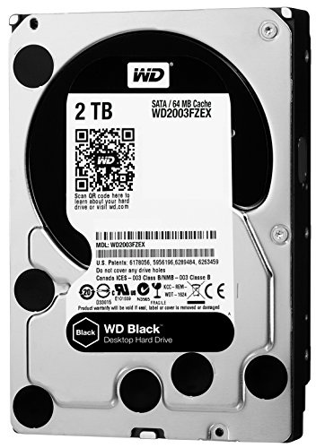 Western Digital 2 TB SATA III Desktop Hard Drive (Black)