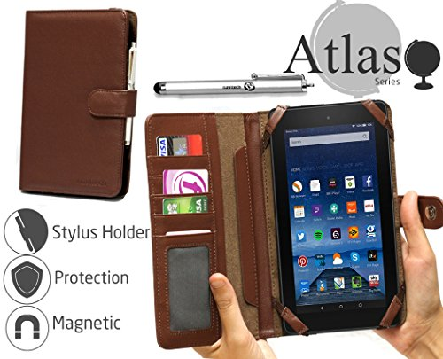 navitech-brown-faux-leather-book-style-case-cover-stylus-pen-for-the-fire-7-display-wi-fi-8-gb