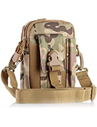 Liangdongshop Multipurpose Tactical EDC Utility Gadget Pouch Molle Waist Bag Smart Phone Holster(With Strap-CP)
